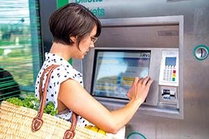 Fahrscheinautomaten im RVL